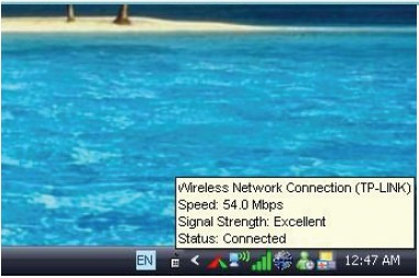 how configure the Wireless connectivity security on Windows XP