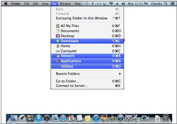 How to ping MAC OS 10.5, 10.6, and 10.7