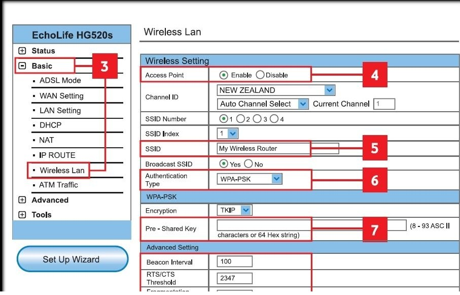 Huawei Router Configuration