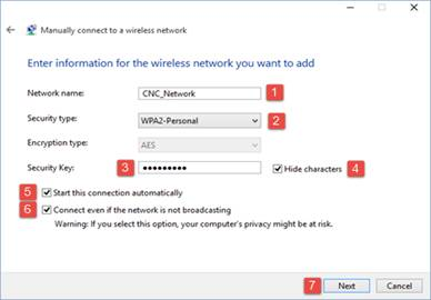 How to connect on Hidden Wireless on Win 10