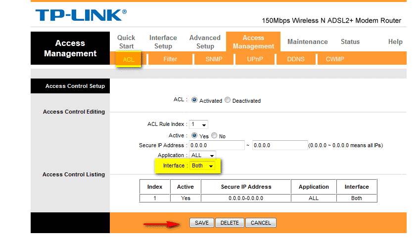 How to make TP-Link router ping-able