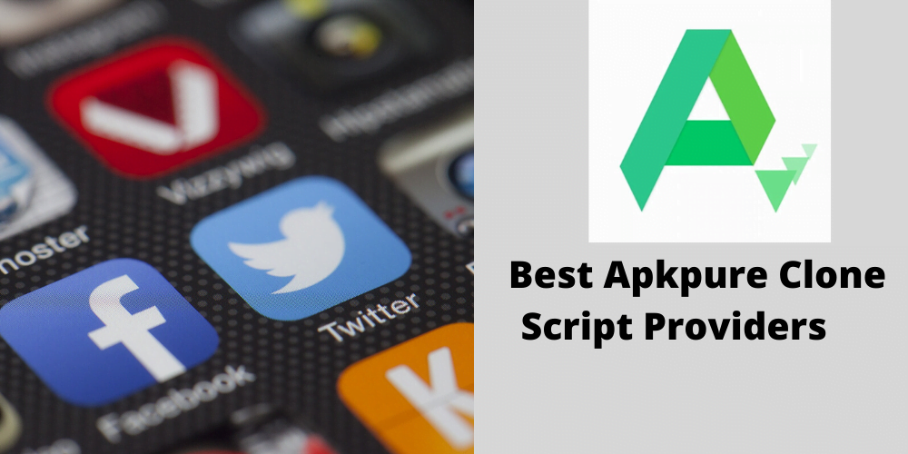 Download APKPURE app store for android